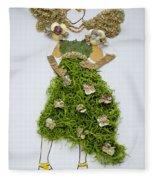 Nature Fairy Fleece Blanket