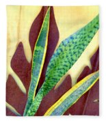 Nature Imitates Art Fleece Blanket