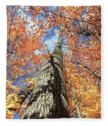 Nature In Art Fleece Blanket