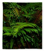 Nature In The Pacific Nw Fleece Blanket
