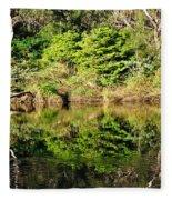 Nature Mirrored Fleece Blanket