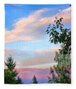 Nature Palette Fleece Blanket