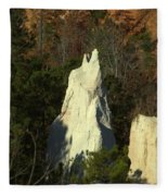 Nature Perfect Carving Fleece Blanket