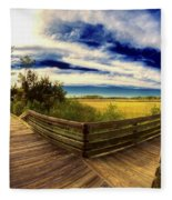 Nature Preserve Fleece Blanket