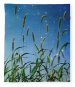 Nature Sparkles Fleece Blanket