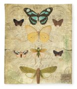 Nature Study-no.1 Fleece Blanket