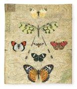 Nature Study-no.2 Fleece Blanket