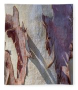 Natures Abstract Fleece Blanket
