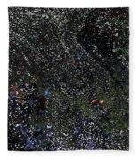 Natures Abstract Fleece Blanket