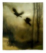 Nature's Blur Fleece Blanket