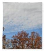 Nature's Brush Strokes Fleece Blanket