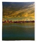 Natures Dramatic Skies  Fleece Blanket