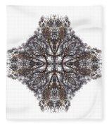Nature's Filigree Fleece Blanket