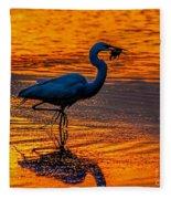 Natures Fisherman Fleece Blanket