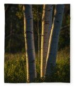 Natures Glow Fleece Blanket