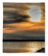 Natures Melody  Fleece Blanket