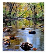 Natures Mood Lighting Fleece Blanket