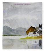 Nature's Painting Fleece Blanket