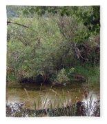 Nature's Pond Fleece Blanket