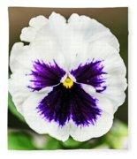 Nature's Purple Angel Fleece Blanket