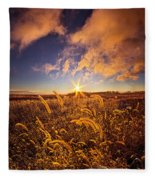 Nature's Romm With A View Fleece Blanket
