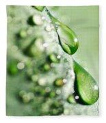 Nature's Teardrops Fleece Blanket