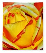 Nature's Vivid Colors Fleece Blanket