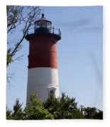Nauset Light - Cape Cod -  Ma Fleece Blanket