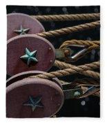 Nautical Ties Fleece Blanket