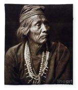 Navajo Medicine Man, C1904 Fleece Blanket
