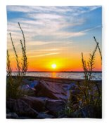 Navarre Fl Sunset 2014 07 29 A Fleece Blanket