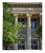Navarro County Courthouse Fleece Blanket
