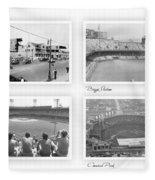 Navin Field Briggs Tiger Stadium Comerica Park Fleece Blanket