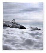 Navy Phantoms Fleece Blanket