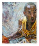 Nba Lakers Kobe Black Mamba Fleece Blanket