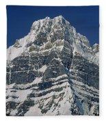 1m3645-ne Face Howse Peak-v Fleece Blanket