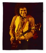 Neal Schon Special Guest With Ronnie Montrose Of Gamma Fleece Blanket