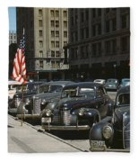 Nebraska Lincoln, 1942 Fleece Blanket