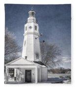 Neenah Lighthouse Fleece Blanket