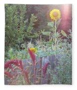 Neighboring Gardeners Fleece Blanket