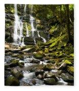 Nelson Falls Tasmania Fleece Blanket