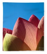 Nelumbo Nucifera Fleece Blanket
