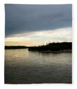 Nenana River Fleece Blanket