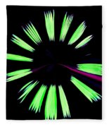 Neon Dreams Fleece Blanket