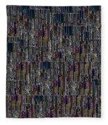 Neon Lights Fleece Blanket