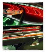 Neon Reflections Fleece Blanket