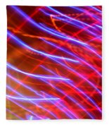 Neon Swell Fleece Blanket
