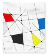 neoplasticism 09 I Fleece Blanket
