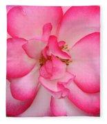 Neptune Hybrid Tea Rose Fleece Blanket