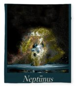 Neptune Rising Fleece Blanket